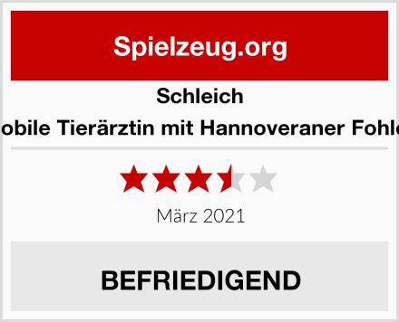 Schleich Mobile Tierärztin mit Hannoveraner Fohlen Test