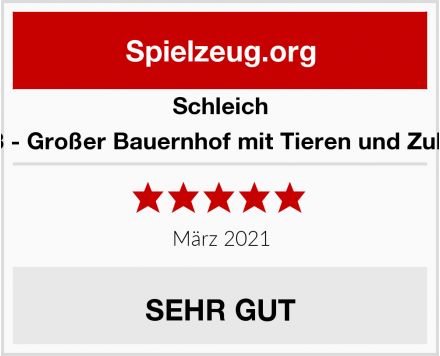 Schleich 42333 - Großer Bauernhof mit Tieren und Zubehör Test