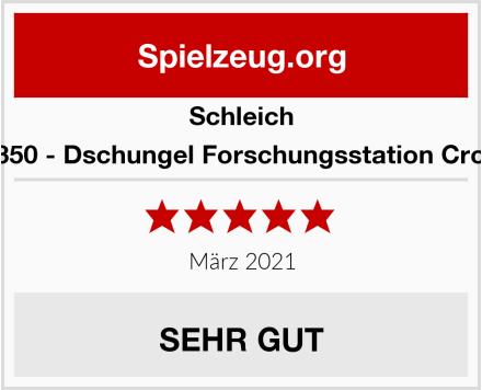 Schleich 42350 - Dschungel Forschungsstation Croco Test