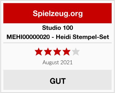 Studio 100 MEHI00000020 - Heidi Stempel-Set Test