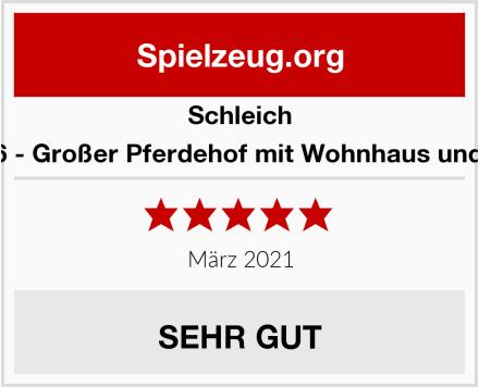 Schleich 42416 - Großer Pferdehof mit Wohnhaus und Stall Test
