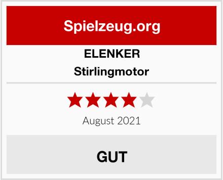 ELENKER Stirlingmotor Test