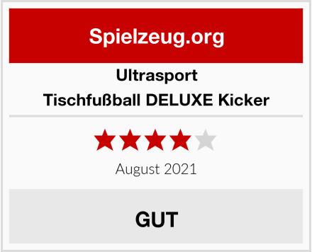 Ultrasport Tischfußball DELUXE Kicker Test
