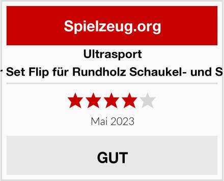 Ultrasport Zubehör Set Flip für Rundholz Schaukel- und Spielturm Test