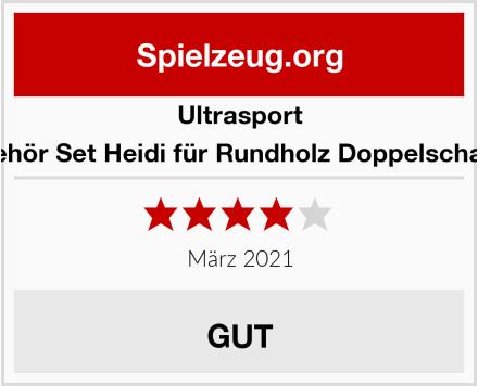 Ultrasport Zubehör Set Heidi für Rundholz Doppelschaukel Test