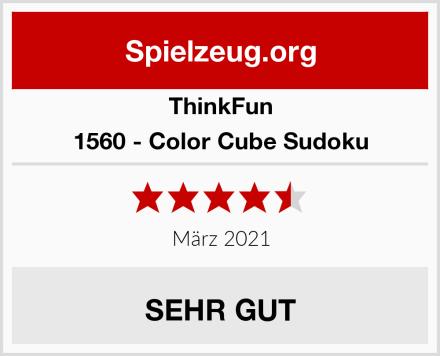 ThinkFun 1560 - Color Cube Sudoku Test