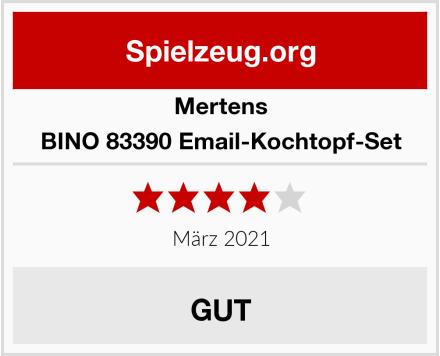 Mertens BINO 83390 Email-Kochtopf-Set Test