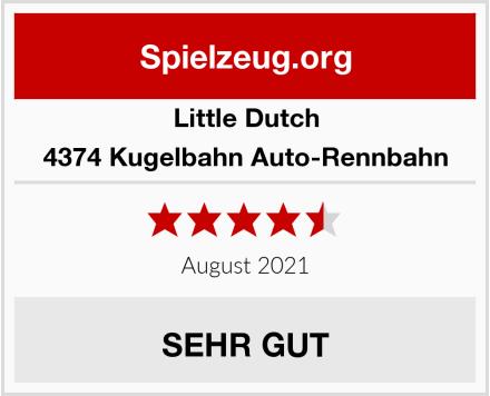 Little Dutch 4374 Kugelbahn Auto-Rennbahn Test