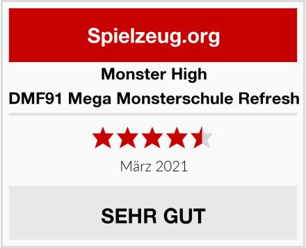 Monster High DMF91 Mega Monsterschule Refresh Test