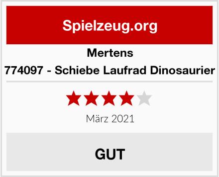 Mertens 774097 - Schiebe Laufrad Dinosaurier Test