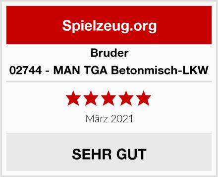 BRUDER 02744 - MAN TGA Betonmisch-LKW Test