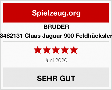 BRUDER 3482131 Claas Jaguar 900 Feldhäcksler Test