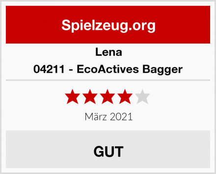 Lena 04211 - EcoActives Bagger Test