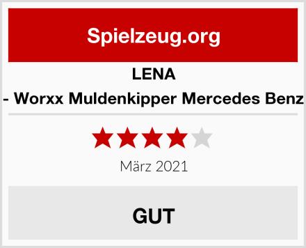 Lena 04600 - Worxx Muldenkipper Mercedes Benz Arocs Test