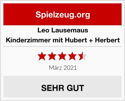 Leo Lausemaus Kinderzimmer mit Hubert + Herbert Test