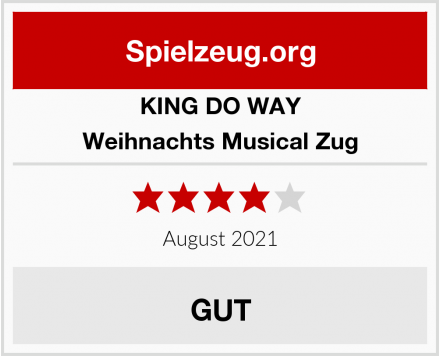 KING DO WAY Weihnachts Musical Zug Test