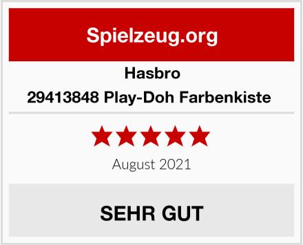 Hasbro 29413848 Play-Doh Farbenkiste  Test