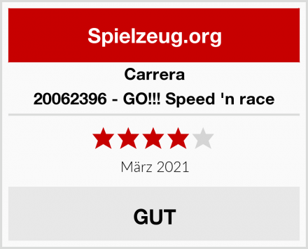 Carrera 20062396 - GO!!! Speed 'n race Test