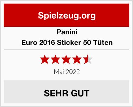 Panini Euro 2016 Sticker 50 Tüten  Test