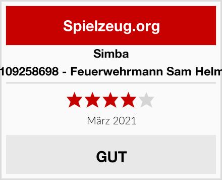 Simba 109258698 - Feuerwehrmann Sam Helm Test