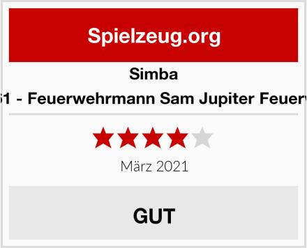 Simba 109257661 - Feuerwehrmann Sam Jupiter Feuerwehrauto Test