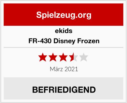 ekids FR-430 Disney Frozen Test