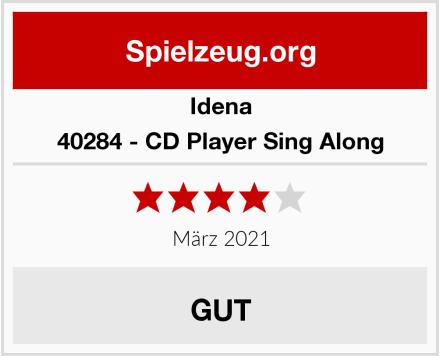 Idena 40284 - CD Player Sing Along Test