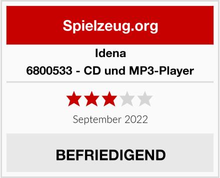 Idena 6800533 - CD und MP3-Player  Test