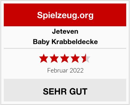 Jeteven Baby Krabbeldecke Test