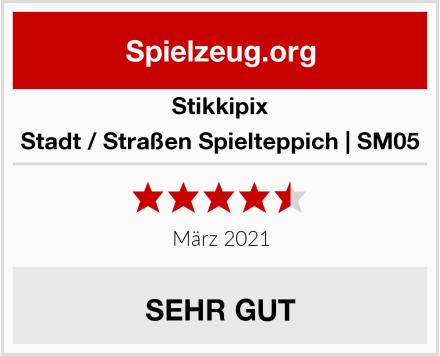 Stikkipix Stadt / Straßen Spielteppich | SM05 Test