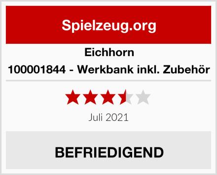 Eichhorn 100001844 - Werkbank inkl. Zubehör Test