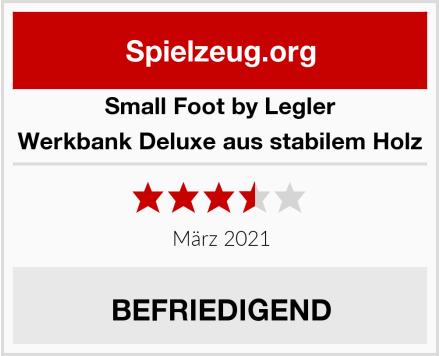 Small Foot by Legler Werkbank Deluxe aus stabilem Holz Test