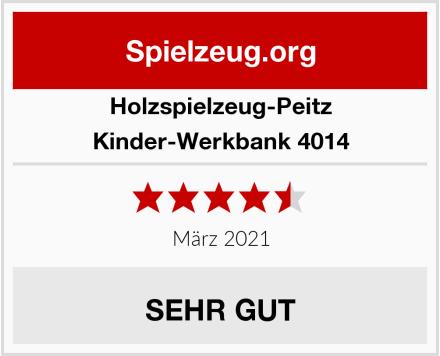 Holzspielzeug-Peitz Kinder-Werkbank 4014 Test