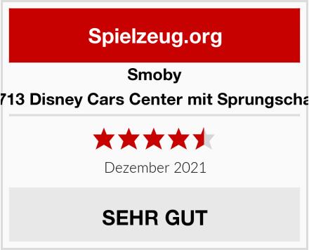 Smoby 360713 Disney Cars Center mit Sprungschanze Test