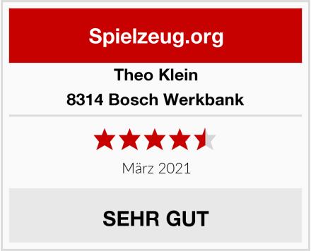 Theo Klein 8314 Bosch Werkbank  Test
