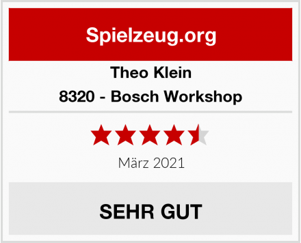 Theo Klein 8320 - Bosch Workshop Test