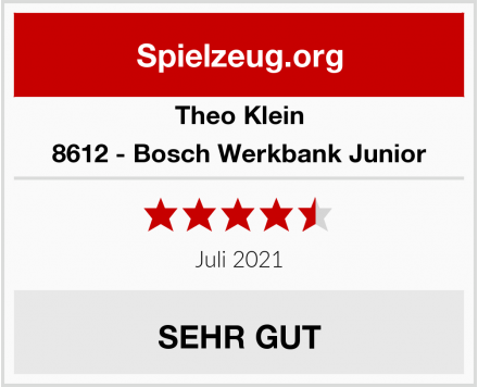Theo Klein 8612 - Bosch Werkbank Junior Test