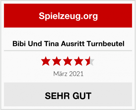 No Name Bibi Und Tina Ausritt Turnbeutel Test