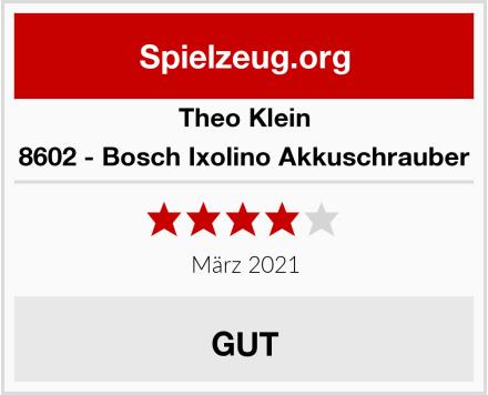 Theo Klein 8602 - Bosch Ixolino Akkuschrauber Test