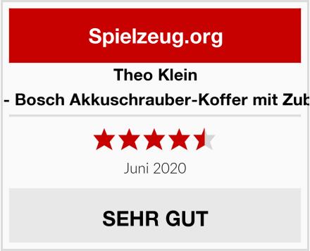 Theo Klein 8584 - Bosch Akkuschrauber-Koffer mit Zubehör Test