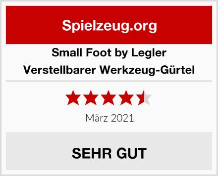 Small Foot by Legler Verstellbarer Werkzeug-Gürtel Test