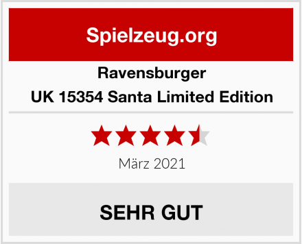 Ravensburger UK 15354 Santa Limited Edition Test