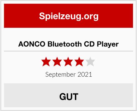 No Name AONCO Bluetooth CD Player Test