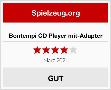 Bontempi CD Player mit-Adapter Test