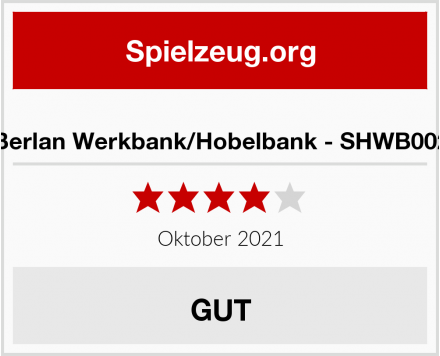 No Name Berlan Werkbank/Hobelbank - SHWB002 Test