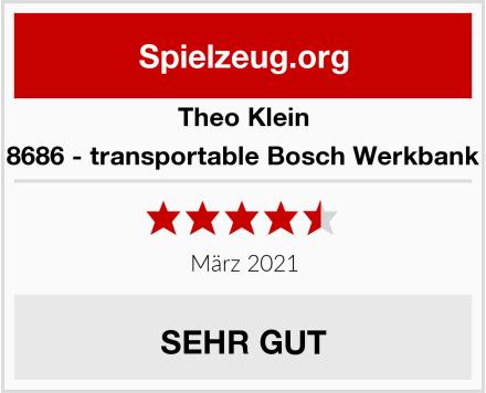 Theo Klein 8686 - transportable Bosch Werkbank Test