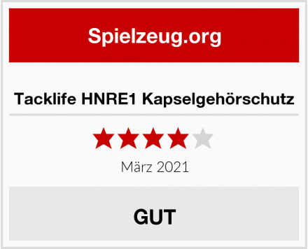 No Name Tacklife HNRE1 Kapselgehörschutz  Test