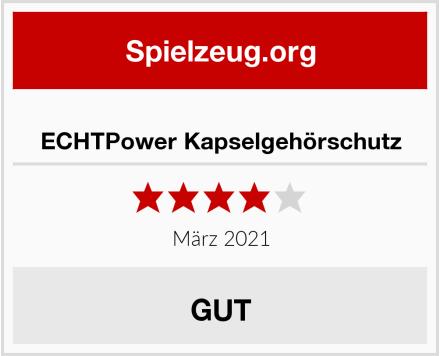 No Name ECHTPower Kapselgehörschutz Test