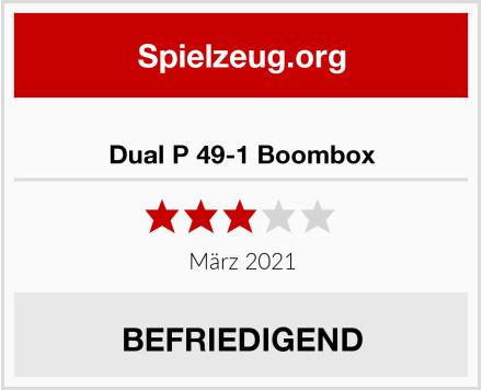 Dual P 49-1 Boombox  Test