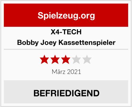 X4-Tech Bobby Joey Kassettenspieler  Test